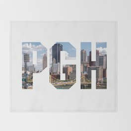 PITTSBURGH - The City Throw Blanket