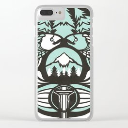 Astrology Northwest: Pisces Clear iPhone Case