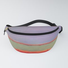 1951 No 6 Violet Green and Red by Mark Rothko HD Fanny Pack