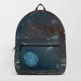 Moon over troubled waters Backpack