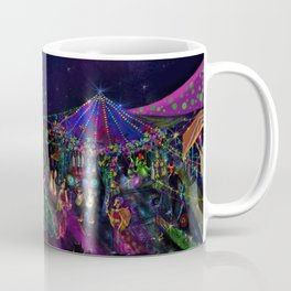 Magical Night Market Coffee Mug