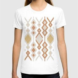 Tribal shapes 1.0 - Autumn colors T-shirt
