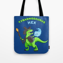 T Hex - Blue Tote Bag