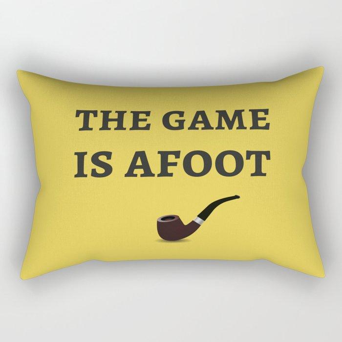 The Sherlock Holmes Quote II Rectangular Pillow