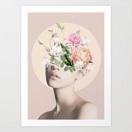 Floral beauty 5 Art Print