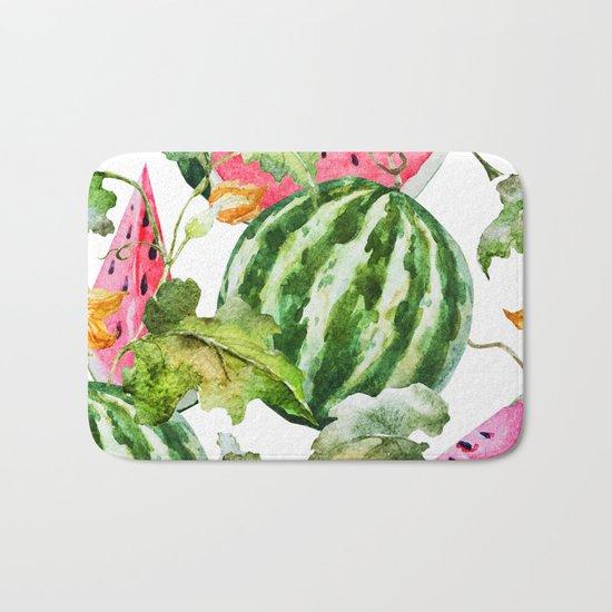 Melon Pattern 04 Bath Mat