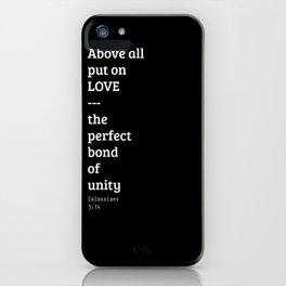 Put on Love iPhone Case