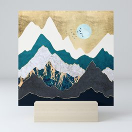 Golden Flight Mini Art Print