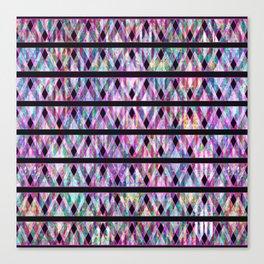 Geometric Glossy Pattern G330 Canvas Print