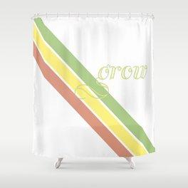 Grow Bright Shower Curtain
