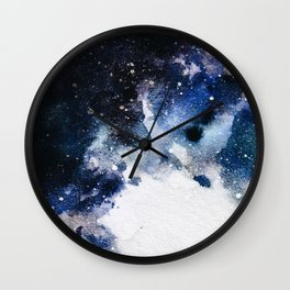 Between airplanes Wall Clock