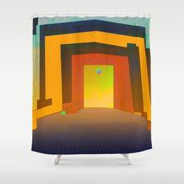 Photosynthetic Habitacle Shower Curtain