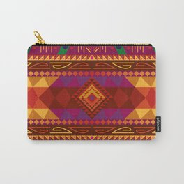 Native American Warm Pattern Design Carry-All Pouch
