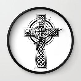 Celtic Knot Cross Tattoo Wall Clock