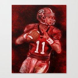 Aaron Murray of UGA Bulldogs Football Canvas Print