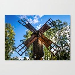 Finnish Windmill Canvas Print