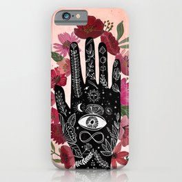 Touching the sky. Cosmic Art iPhone Case