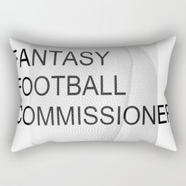 Fantasy Football Commissioner Rectangular Pillow