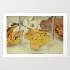 November days Art Print