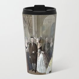 Franklin's Reception At The Court Of France Travel Mug