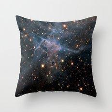 Mystic Mountain Nebula Throw Pillow