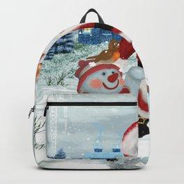 Funny Santa Claus Backpack