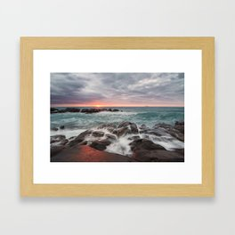 Scenery of Sicily Framed Art Print