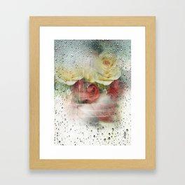 rain is beautiful  Framed Art Print