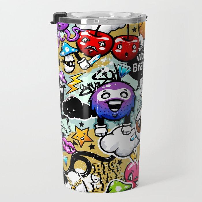 Bizarre Graffiti #1 Travel Mug