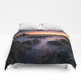I'lle d'Or at Sunset Comforters