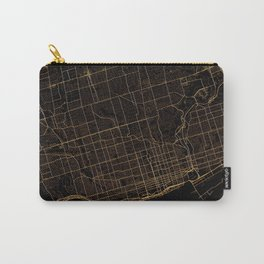 Toronto map, Canada Carry-All Pouch