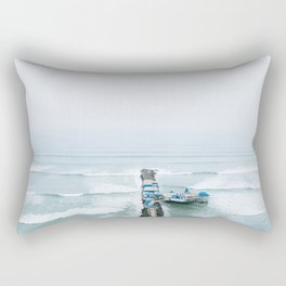 View off the Coast of Miraflores, Lima, Peru Rectangular Pillow