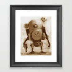 Basquibot Framed Art Print