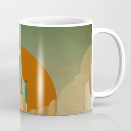 The Voyage (Green) Coffee Mug