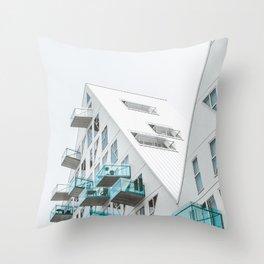 Isbjerget Aarhus |  Denmark #architecture Throw Pillow