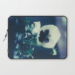Pansy Bloom Laptop Sleeve