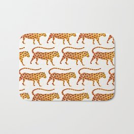Jaguar Pattern Bath Mat