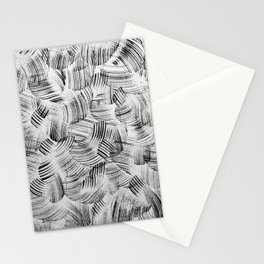 Movement in Black & White Stationery Cards