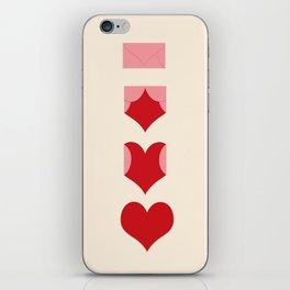 Love Lettre iPhone Skin