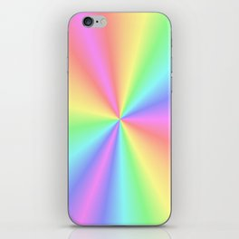 Rainbow Pattern 3 iPhone Skin