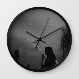 Light and Darkness.. Wall Clock