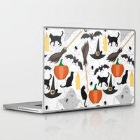 halloween Laptop & iPad Skins featuring Halloween by Julia Badeeva