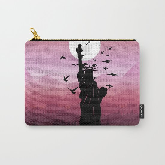 Liberty Enlightening the World Carry-All Pouch