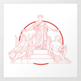 MOS MAIORVM Art Print