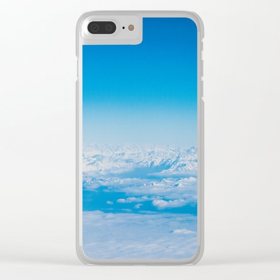 In the sky Clear iPhone Case