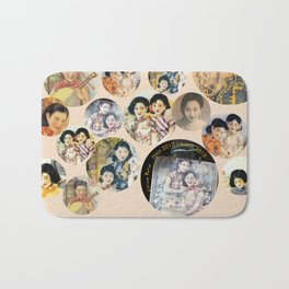Beijing 6576 Asian vintage atmosphere with women Bath Mat