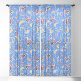 vine melody Sheer Curtain