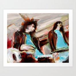 Joey & Jhonny Art Print
