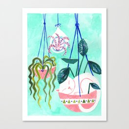 Hanging Gardens Canvas Print