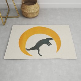 Moon and Cat Rug